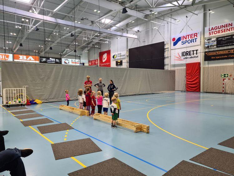 Idrettsskolen (Foto: Marianne Kolås)