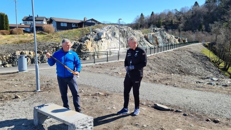 Hans R. Dankertsen og Pål Nord