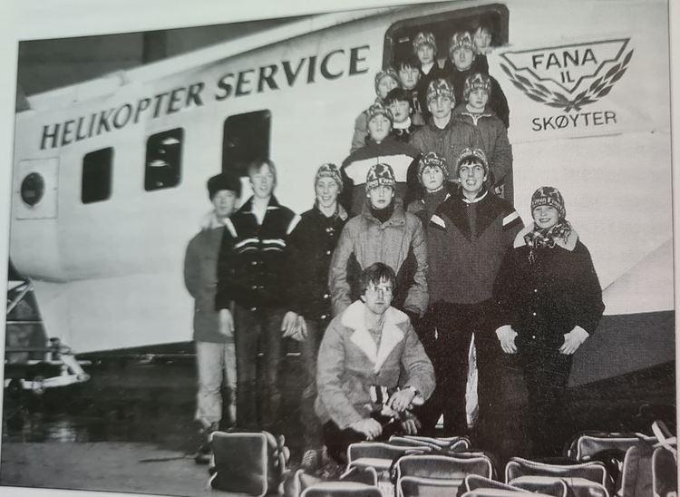 De reiste standsmessig den gang på 80-tallet