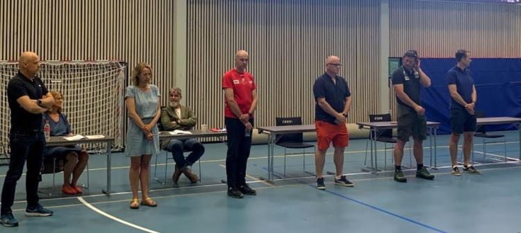 Hederstegn i bronse, Thomas Knarvik fra håndball og Nancy Jøssang fra hovedlaget var ikke tiltede