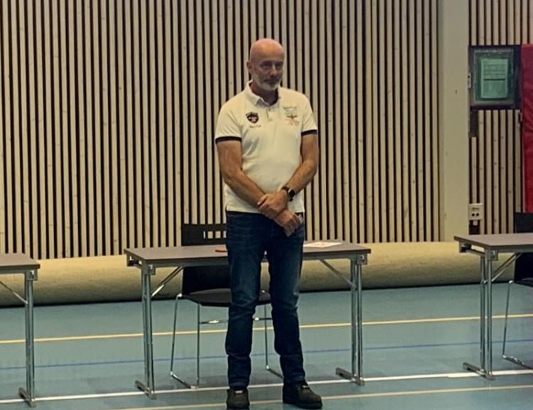 Hederstegn i Sølv til Elling Sundberg, fotball. Marta Rongved, friidrett var ikke tilstede