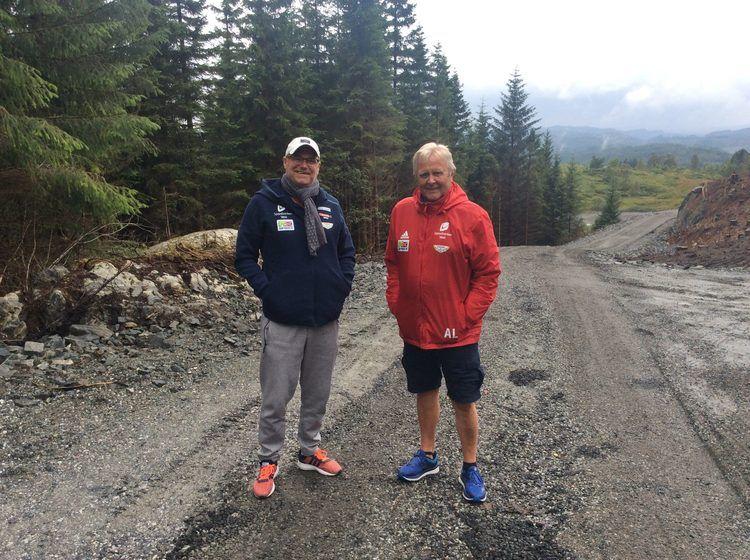 Sportssjefen og Asbjørn, to menn med sterke meninger om det meste