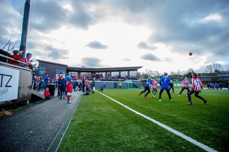 Nytt klubbhus på Nesttun Idrettsplass